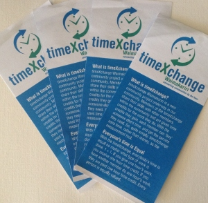 Next time you see a timexchange leaflet...why not sign up?
