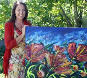 See local artist Ira Mitchell create a work of art at Friday's opening evening.