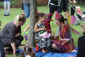 Fairies entertain at last year's Toddlers' Big Day Out